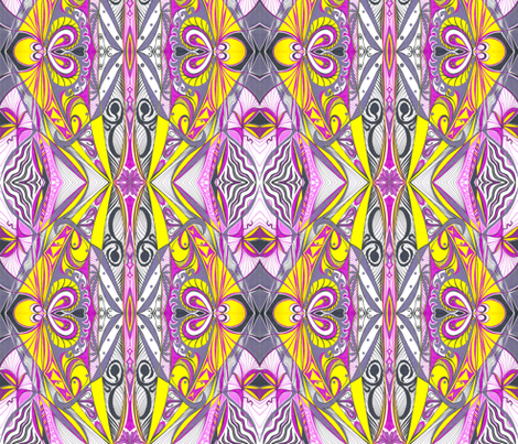 Passionfruit fabric by yezarck on Spoonflower - custom fabric