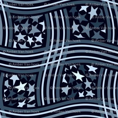 star weave blue