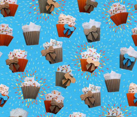 Cupcake Sprinkles fabric by candyjoyce on Spoonflower - custom fabric