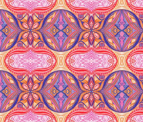 Sherbet_Shells fabric by yezarck on Spoonflower - custom fabric