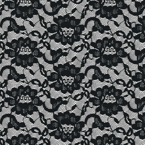 Long, black veil fabric by keweenawchris on Spoonflower - custom fabric