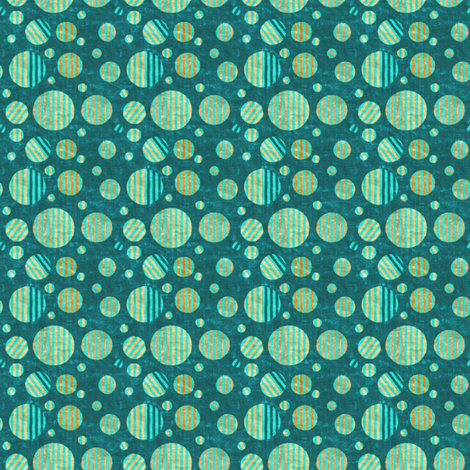 Dottik Batik: Little Striped Dots fabric by tallulahdahling on Spoonflower - custom fabric