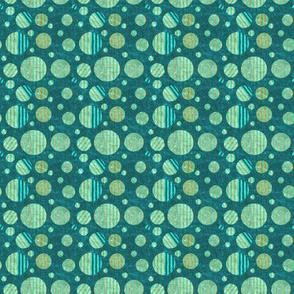 Dottik Batik: Little Striped Dots