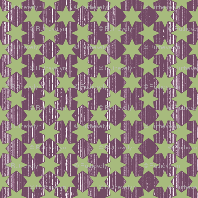 Green Stars & Wine Grain
