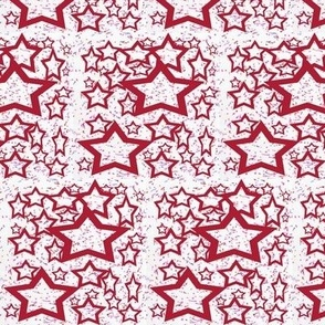 Stars And Stripes Dotted Stars, ATD 506
