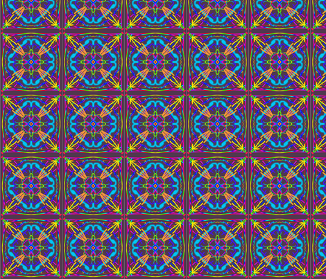 kaleidoscope_013 fabric by mammajamma on Spoonflower - custom fabric