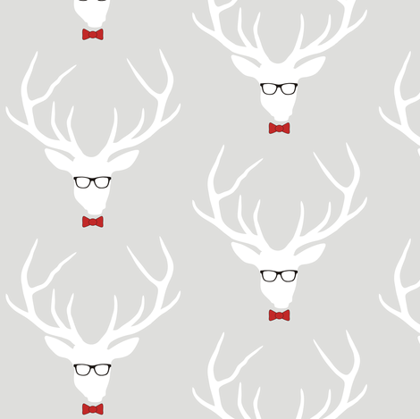 Geekhead Small Scale fabric by smuk on Spoonflower - custom fabric