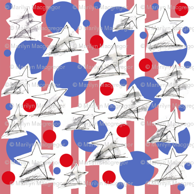 Stars Stripes and Bubbles