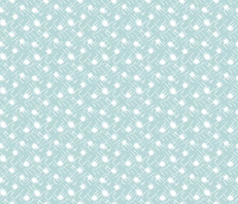 wind blown:dot:B8D8D8 fabric by keweenawchris on Spoonflower - custom fabric