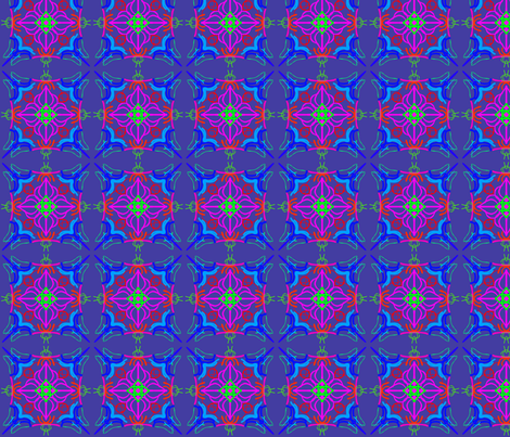kaleidoscope_016 fabric by mammajamma on Spoonflower - custom fabric