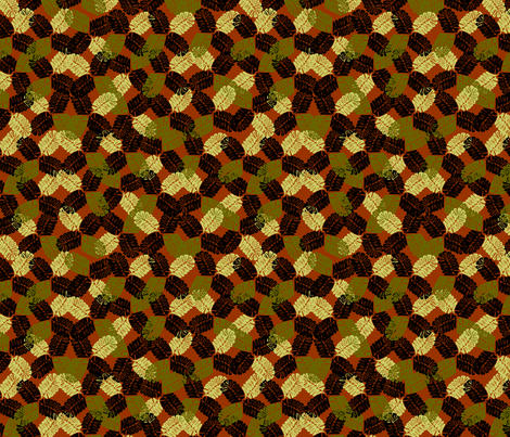 harmonious_02 fabric by glimmericks on Spoonflower - custom fabric