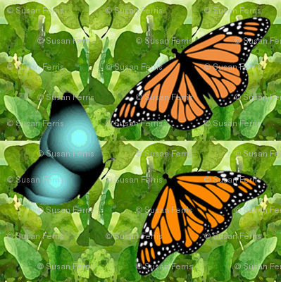 1950s Butterflies are Free