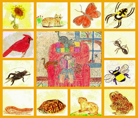 Riddles in the Garden Collage