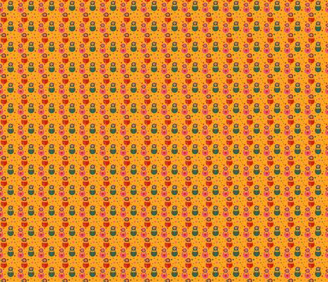 CHAMP MATRIOCHKAS 1 fabric by manureva on Spoonflower - custom fabric