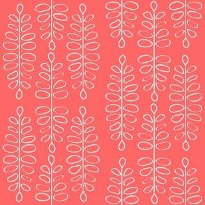 mod fern: coral