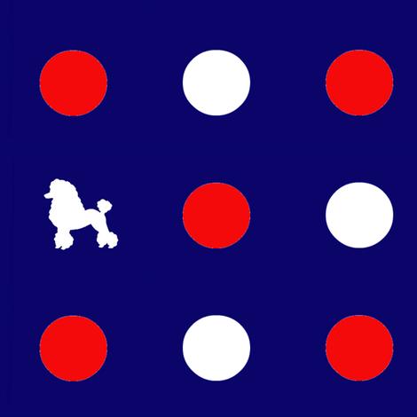 polka_dog_dot_5 fabric by hookedbyk on Spoonflower - custom fabric