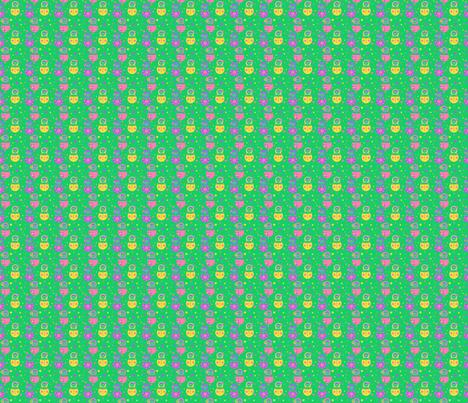 PINATA ET MATRIOCHKA fabric by manureva on Spoonflower - custom fabric