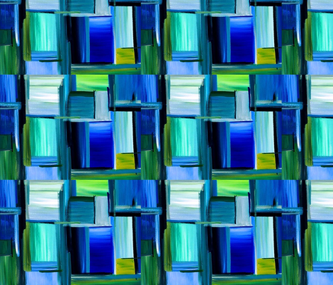 Window Panes Random fabric by flyingfish on Spoonflower - custom fabric