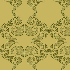 Monstera Damask green