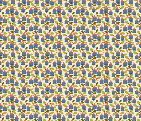 Flower Bells fabric by danab78 on Spoonflower - custom fabric