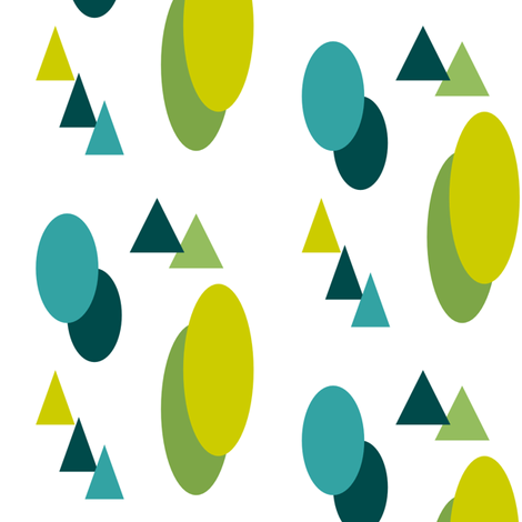 shapes fabric by jas on Spoonflower - custom fabric