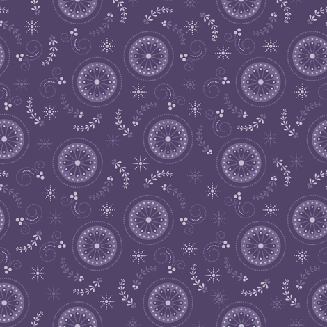 Cosmic Floral fabric by robyriker on Spoonflower - custom fabric