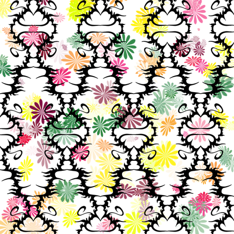 Flower Band fabric by j__troy on Spoonflower - custom fabric