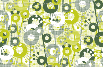 Sticks & Spots, Stripes & Dots: Forest Lime