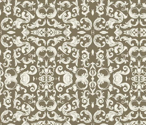 3114 Bentley Ave. fabric by flyingfish on Spoonflower - custom fabric
