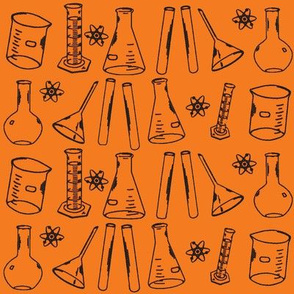 Chemistry Lab Orange