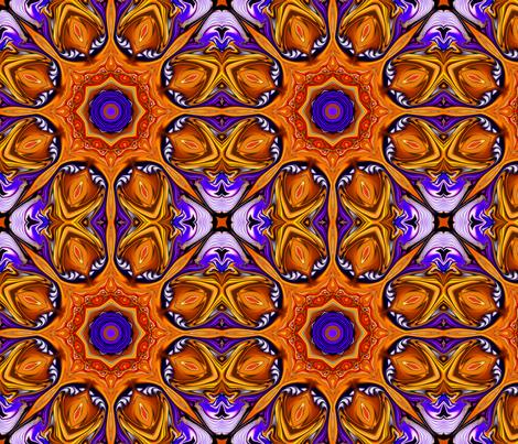 Jeweled_Medallions_B fabric by needlesongs on Spoonflower - custom fabric