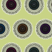 Doily Pattern Colour