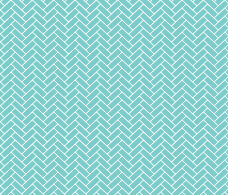 Sky_Herringbone fabric by designedtoat on Spoonflower - custom fabric