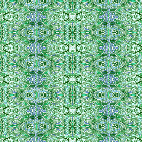 St Patrick's Paisley fabric by edsel2084 on Spoonflower - custom fabric
