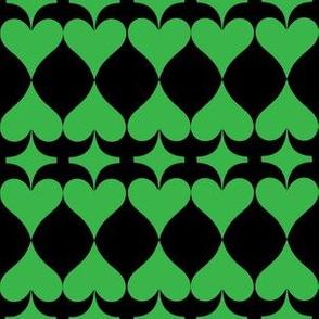 The green spade