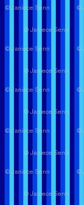 Blue stripes (Blue bayou companion fabric)