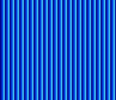 Blue stripes (Blue bayou companion fabric) fabric by whimzwhirled on Spoonflower - custom fabric