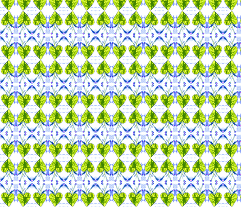 Heart Leaf fabric by robin_rice on Spoonflower - custom fabric