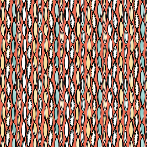 scallops fabric by eedeedesignstudios on Spoonflower - custom fabric