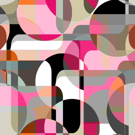Danish Modern fabric by joanmclemore on Spoonflower - custom fabric