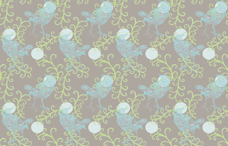 evening song horizontal fabric by keweenawchris on Spoonflower - custom fabric