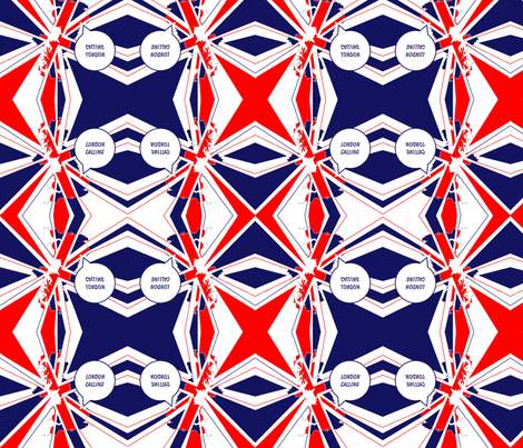 Olympic_London_Calling fabric by podaiboo on Spoonflower - custom fabric