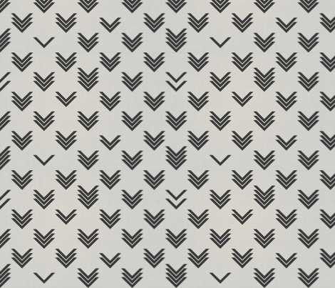 Varied Chevrons Blur fabric by candyjoyce on Spoonflower - custom fabric