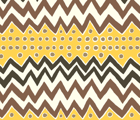 zig_zag fabric by stacyiesthsu on Spoonflower - custom fabric