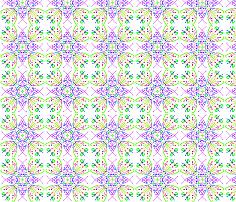 kaleidoscope_014 fabric by mammajamma on Spoonflower - custom fabric