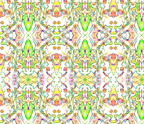 Below  fabric by turbo68 on Spoonflower - custom fabric