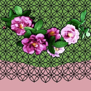 Rose_Garland_green_and_flesh_black_lace_2c__8_x72