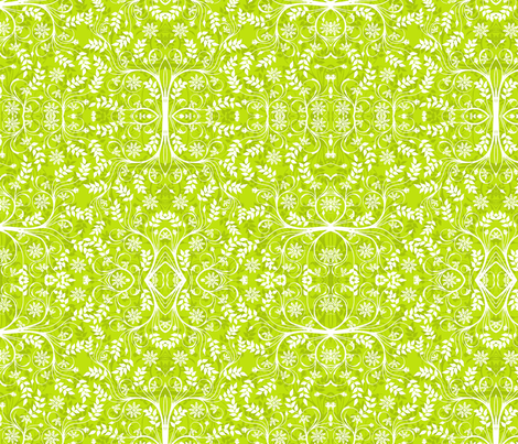 Garden of Delights fabric by flyingfish on Spoonflower - custom fabric