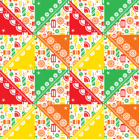 Popcicle Pinwheel fabric by karistyle on Spoonflower - custom fabric