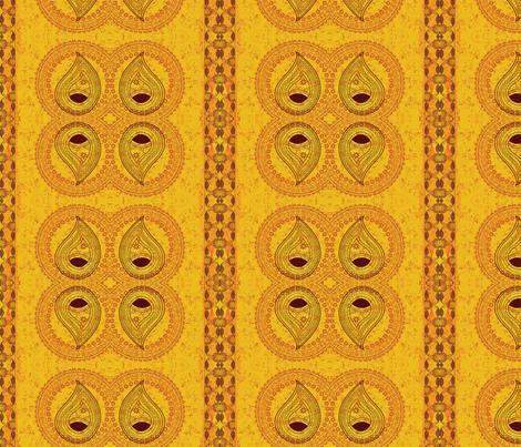 Paisley Flame fabric by flyingfish on Spoonflower - custom fabric
